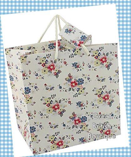 """23cm//9.1/"""" Sweet /""""Summer Daisy/"""" Ditsy Floral Gift Bag Medium"""