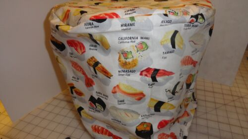 6 qt size yummyFREE US SHIPPING limited sushi on white Instant pot cover