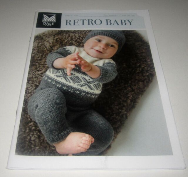 Dale Garn Retro Baby Knitting Pattern Book 319 Ages Nb Thru 36m
