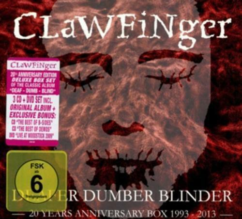 CLAWFINGER - DEAFER DUMBER BLINDER - 20 YEARS... - 3CD-DVD-Box - 884860099974