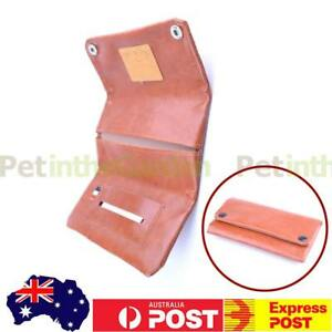 Leather Cigarette Tobacco Pouch Bag Case Filter Rolling Paper Pipe Holder Brown 6910235645195
