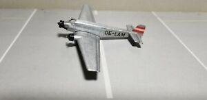 SCHABAK-1027-13-AUSTRIAN-AIRLINES-JU-52-1-250-SCALE-DIECAST-METAL-MODEL