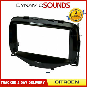 DFP-04-08 Peugeot Bipper 2008-2017 Car Stereo Single DIN Black Facia Panel