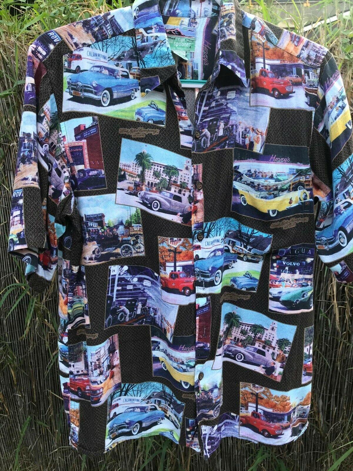 Aloha Shirt Reyn Spooner 100% Spun Rayon - image 1