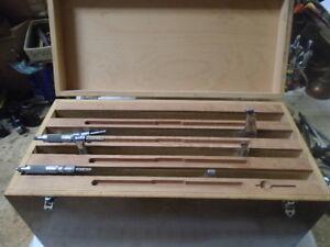 MACHINIST-TOOLS-LATHE-MILL-Machinist-3-Micrometers-in-Box
