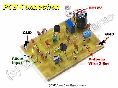 [ DIY ] 655kHz/1310kHz AM Transmitter PCB Parts Set