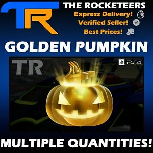 Rocket League Golden Pumpkin