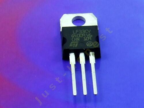 LF33CV Spannungsstabilisator 3,3V Voltage stabiliser  3.3V 500mA #A157