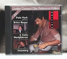 PETE YORK presents BRIAN AUGER & COLIN HODGKINSON - STEAMING CD NEAR MINT