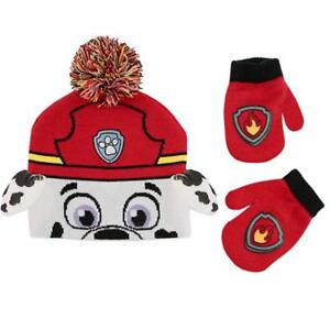 845aa633f Details about Paw Patrol Boys Cold Winter Hat Gloves Beanie SET Mittens  Kids Toddler Age 2T 4T