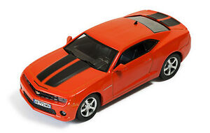 Ixo-Models-1-43-MOC-173-Chevrolet-Camaro-2012-Met-Orange-with-Black-Stripes-NEW