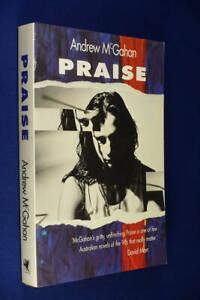 PRAISE Andrew McGahan BOOK Cult Generation X Brisbane QLD Australian Novel