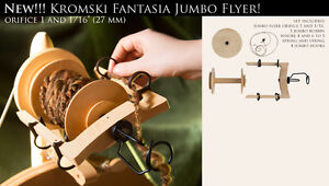 Jumbo Flyer Kit Kromski Fantasia Räder unvollendeten kostenloser Versand