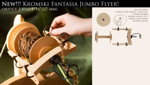 Jumbo Flyer KIT Kromski Fantasia Wheels Finished FREE Shipping Clear