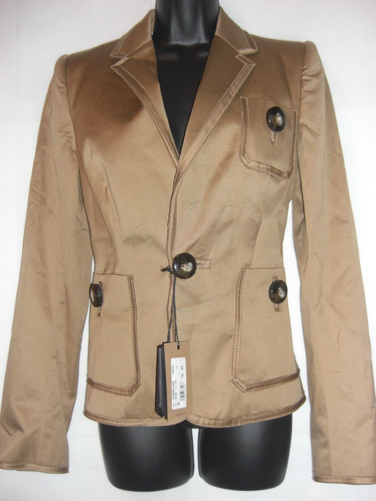 NEW DSQUARED brown Blazer IT44 UK12  RRP