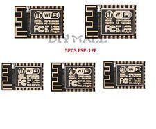 5pcs Esp8266 Esp-12f Serial WiFi Wireless Module Transceiver Adapter LWIP AP Sta