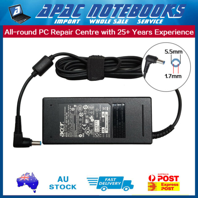 Genuine Power AC Adapter Charger for Acer S3-391 S3-951 E1-531 E1-571 V3-551