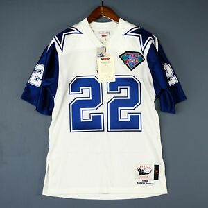 505fbc16040 100% Authentic Emmitt Smith 94 Cowboys Mitchell & Ness NFL Jersey ...