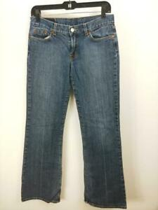 Lucky-Brand-Women-039-s-LiL-Maggie-Medium-Wash-Bootcut-Jeans-Size-6-28-Inseam-29-5