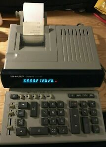 Sharp-Compet-CS-1780-adding-machine-calculator-adjustable-screen-and-keyboard