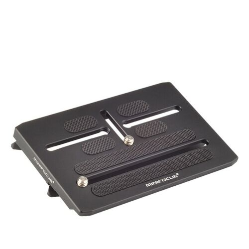 Placa de liberación rápida cámara MINIFOCUS Offset Kit Para BMPCC 4K Ronin S Cardán V5N1