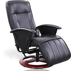 Poltrona Relax Ufficio.Dettagli Su Poltrona Sedia Massaggiante Riscaldante Reclinabile Relax Ufficio In Ecopelle