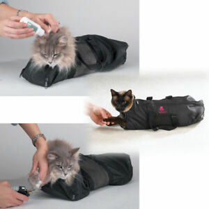 Top Performance Cat Grooming Bag Perfect Tool For Bathing And Grooming Cats New