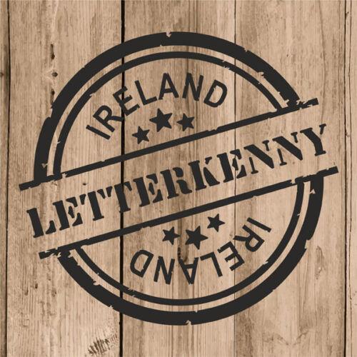 "Letterkenny Sticker Vinyl 10 cm 4/"" Decal Stamp Letterkenny Ireland Eire Car"