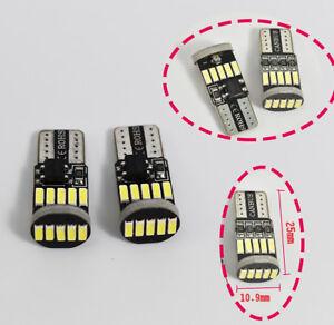 Vanity Mirror Lights T10 168 175 194 2825 12961 LED White ...