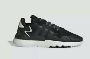 Adidas-Nite-Jogger-Size-10-EE6254-Men-039-s-Shoes-Black-White-Black