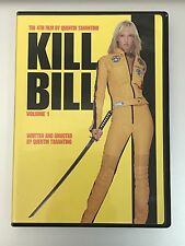 Kill Bill 1  DVD Uma Thurman, David Carradine, Daryl Hannah, Michael Madsen, Luc