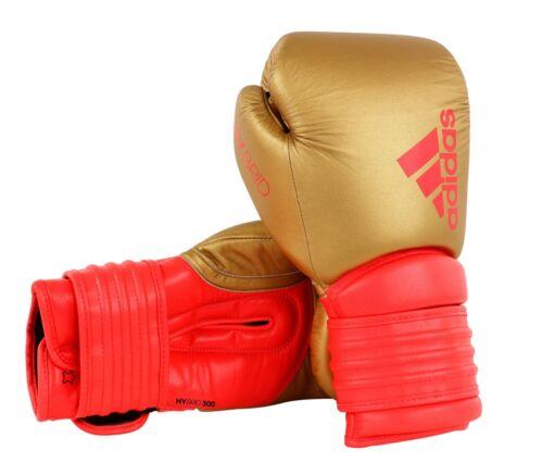 Oro//Rosso massima tecnologia Adidas ADIDAS-Guantoni da boxe ibrida 300 14oz//16oz