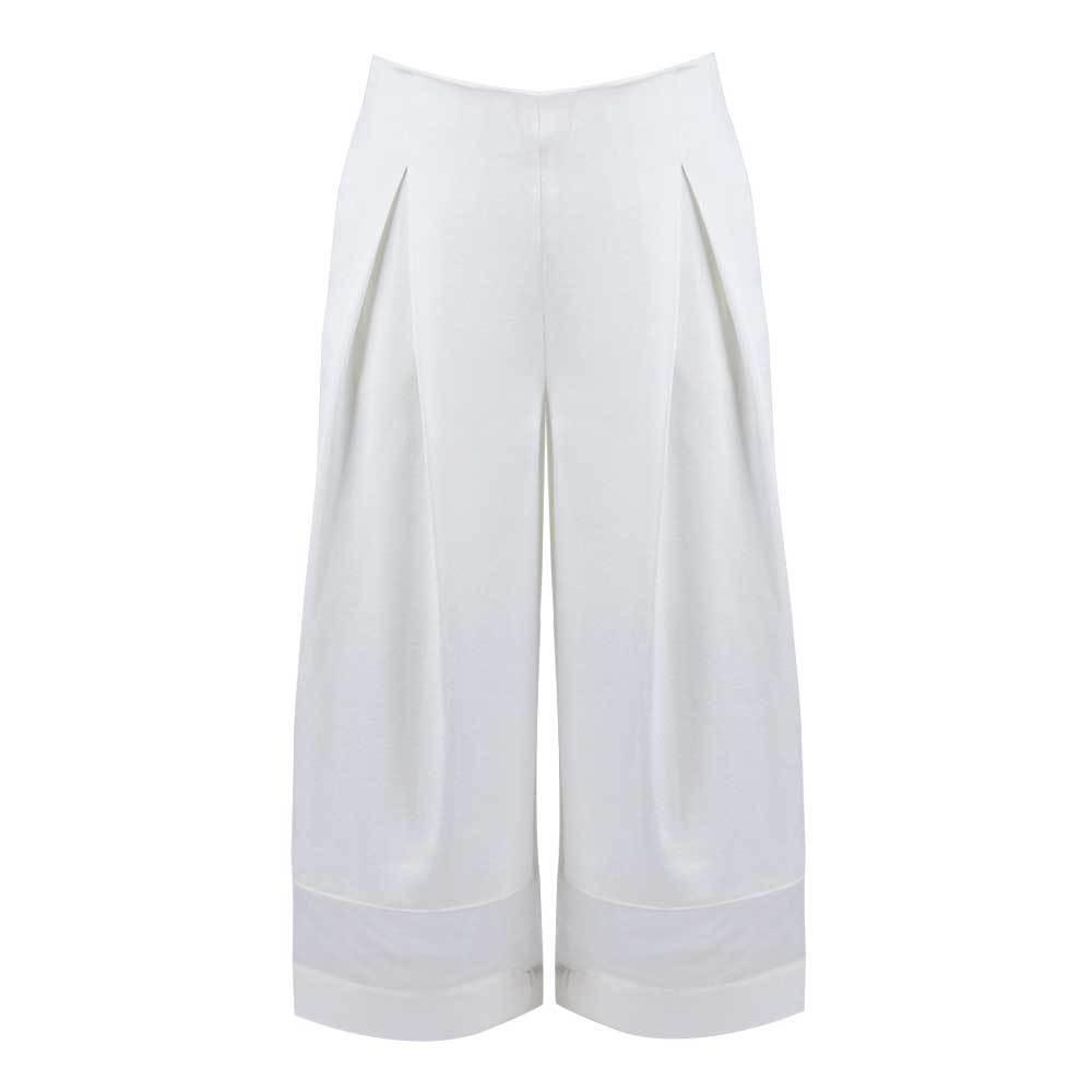 Women's Milky Wide Leg Crop Pants. New  Ship Free