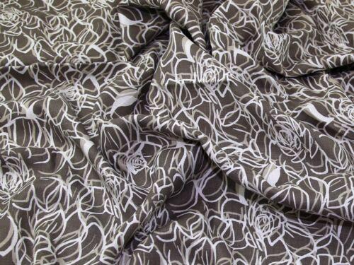 Patra - 275976-vison-M John Kaldor Abstract Print 100/% Lin Robe tissu