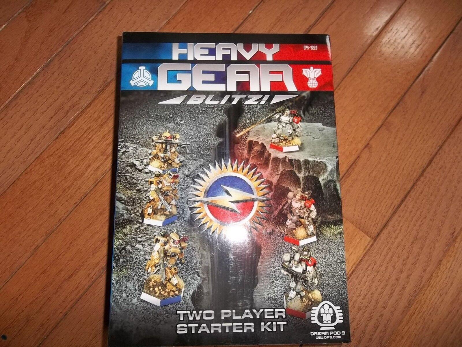 Dream Pod 9 DP9 Heavy Gear Blitz Two Player Starter Kit