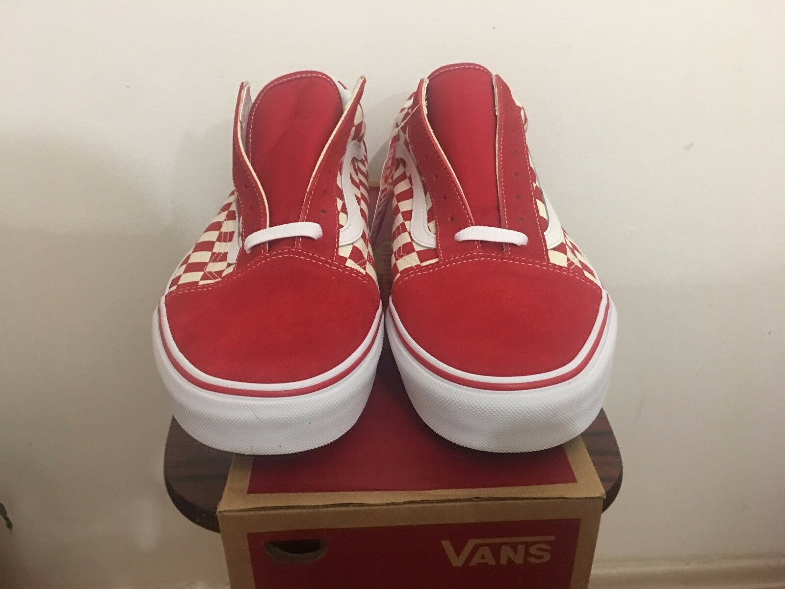 Vans Old Skool Checkerboard rot Checker Primary Primary Primary Supreme All Größes 4-13 Limited c7a839