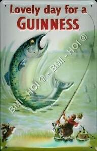 Guinness big fish classic old poster on metal sign 12 for Big fish classic