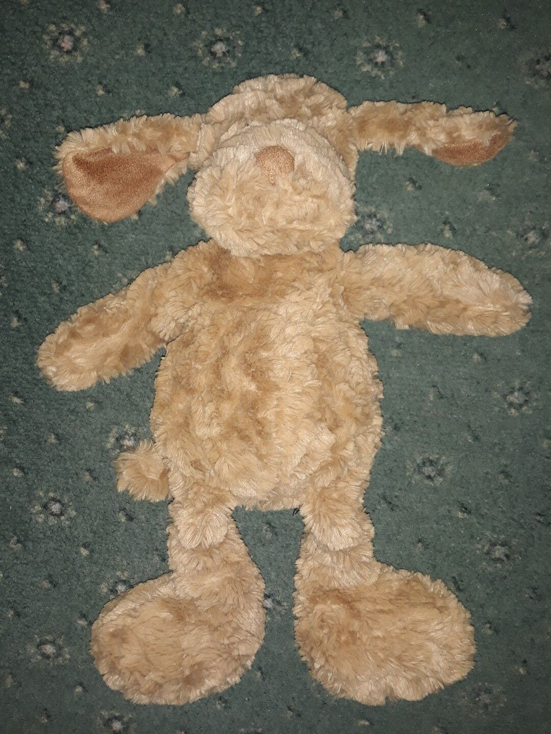 JELLYCAT DOG  PUPPY DOG SOFT TOY BROWN  15  COMFORTER EX USED COND