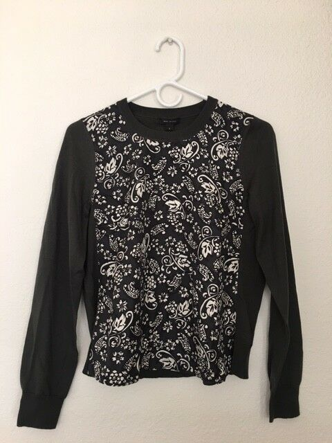 NWT  Marc Jacobs Sweater Small K4143812 Tag Say Forest 640997