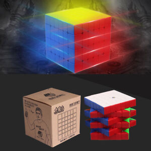 67a7729bc512e8 YuXin Little Magic 3x3x3 Speed Cube Magic Cube Smoothly Fast Twsit Puzzle  Cube  (Black )