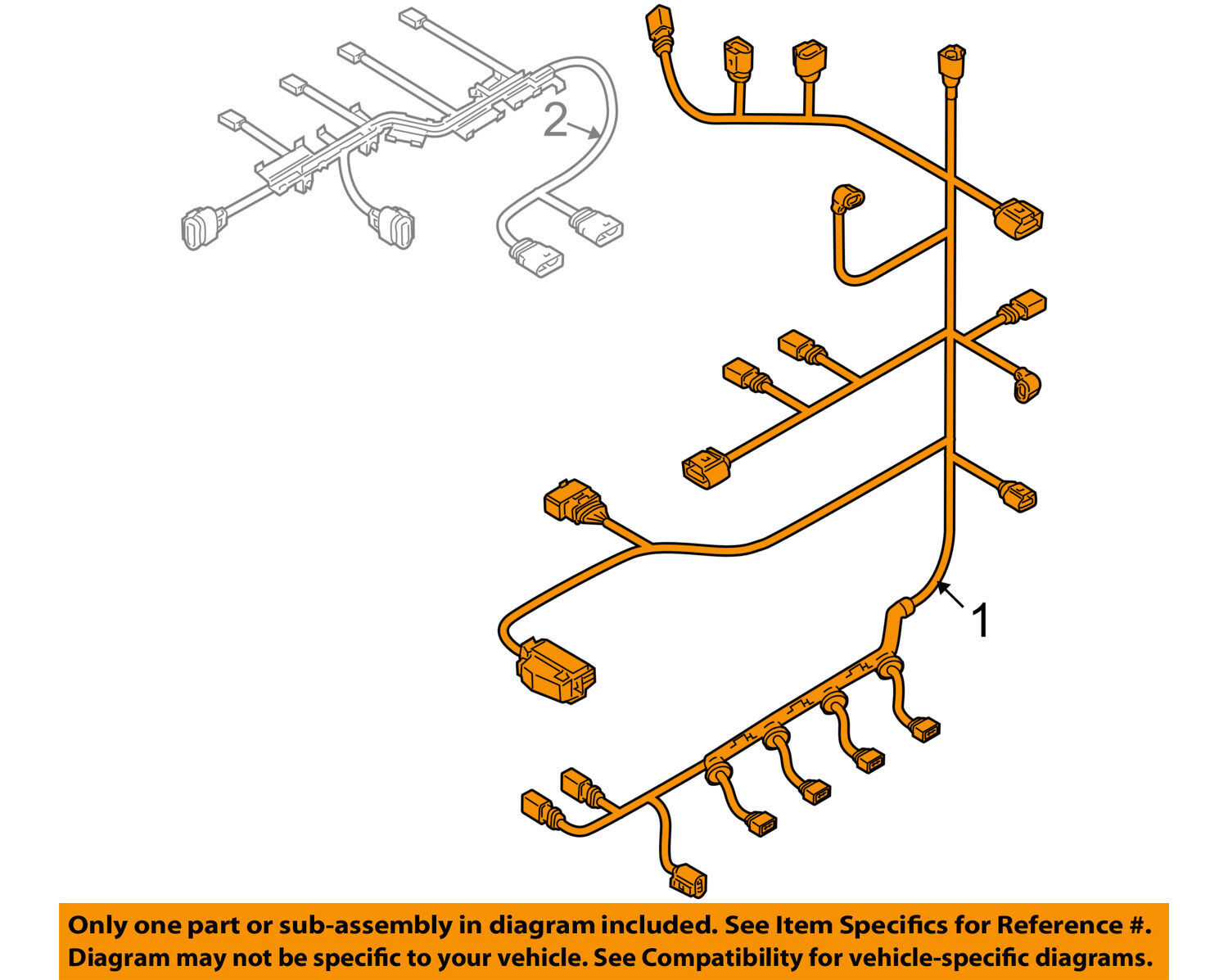 Volkswagen 06j971595d Genuine Oem Engine Harness Ebay K20a2 Ecu Wiring Diagram Norton Secured Powered By Verisign