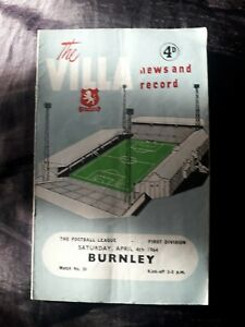 1964-ASTON-VILLA-V-BURNLEY-DIVISION-1-ONE-FOOTBALL-LEAGUE-PROGRAMME