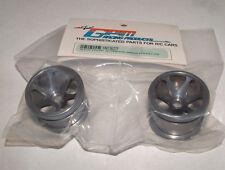 TEAM LOSI MINI-T  GPM FRONT 3D SINKAGE 6 POLE GRAY SILVER ALUMINUM RIMS SMT0627F