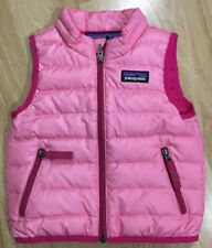 Patagonia Baby Down Sweater Vest 60507 Magic Pink Size 4t Ebay