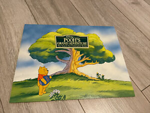 Disney Store Winnie the Pooh Grand Adventure 4 x Exclusive Lithograph Prints