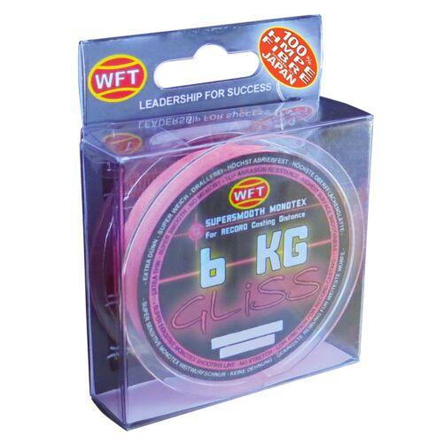 0,10 €//m WFP Gliss Pink 150 M Tressées Fil de Pêche Angel Corde Corde hmpe