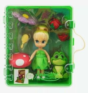 "Disney Store  Animators'  Collection  5/"" Mini Tinker Bell Doll /& Playset  NEW"