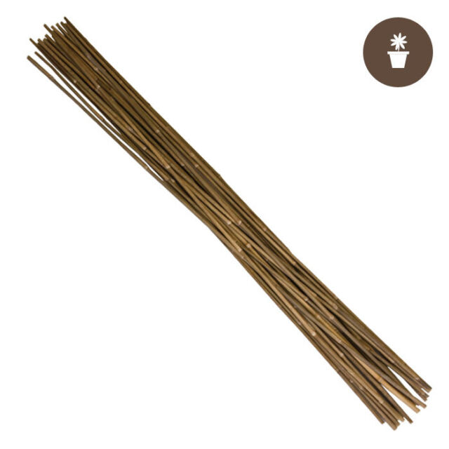 Growers Edge Natural Bamboo 2 ft Bag of 25