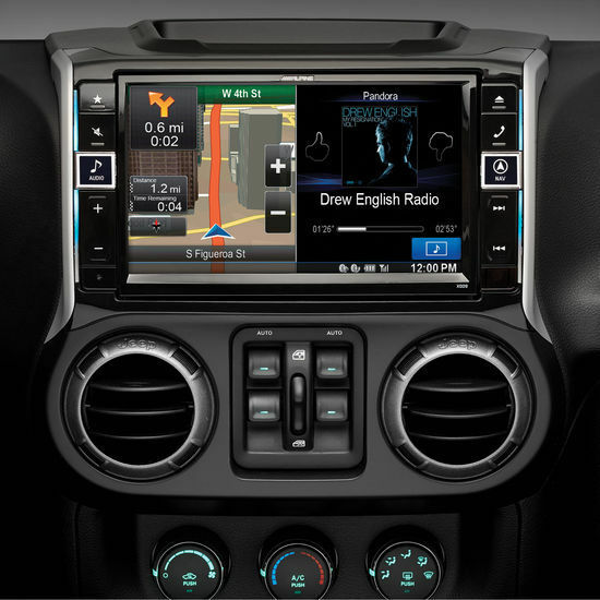 ALPINE 2011+ Jeep Wrangler/Unlimited In Dash DVD Stereo | X009 WRA