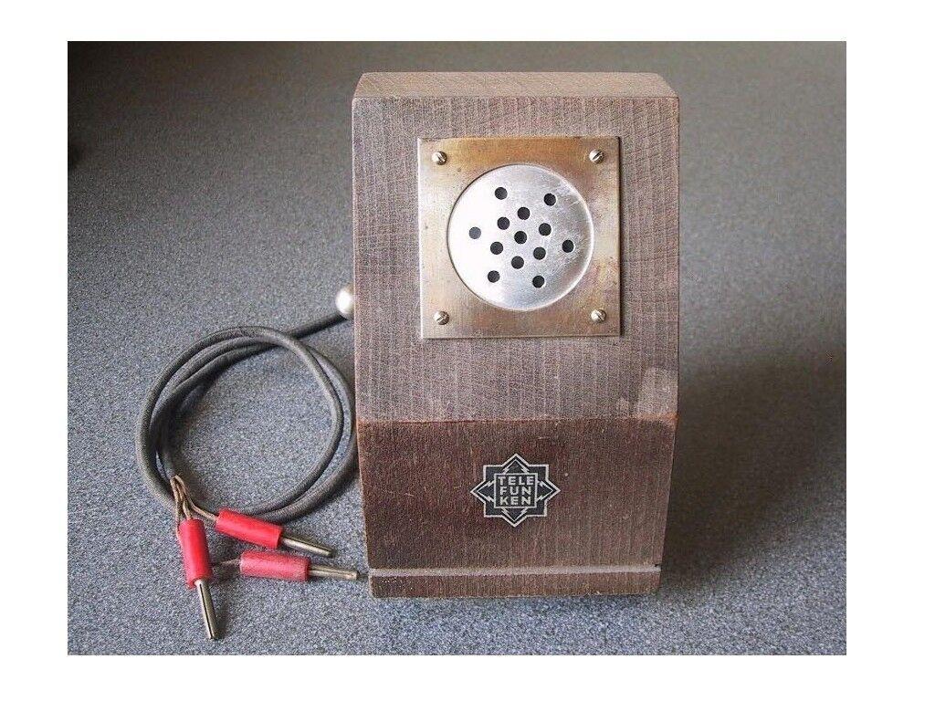 Antique Telefunken Ela M64 microphone
